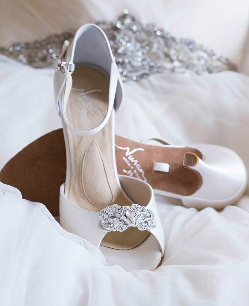 The worlds most comfortable wedding shoes