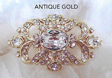 Antique Gold Brooch