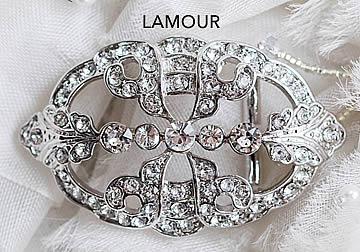 Lamour Brooch