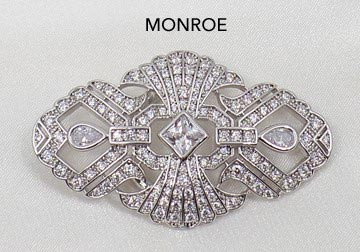 Monroe Brooch