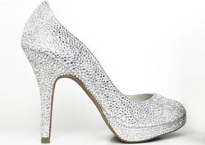 Angela Nuran total shoe glitz