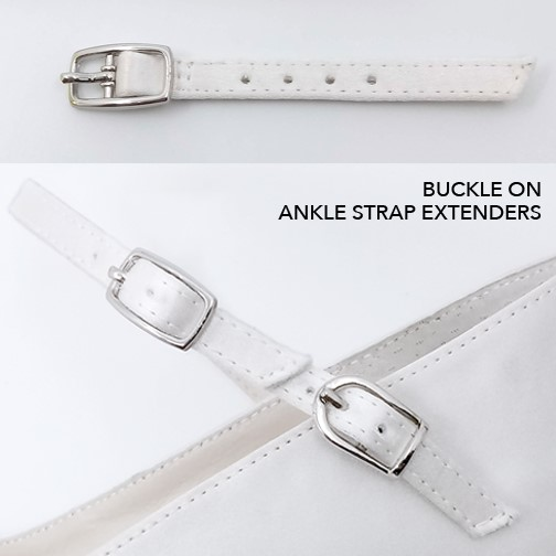 Ankle Strap Extender Buckles.