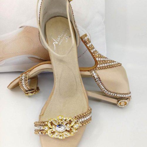 Filigree Gold shoe