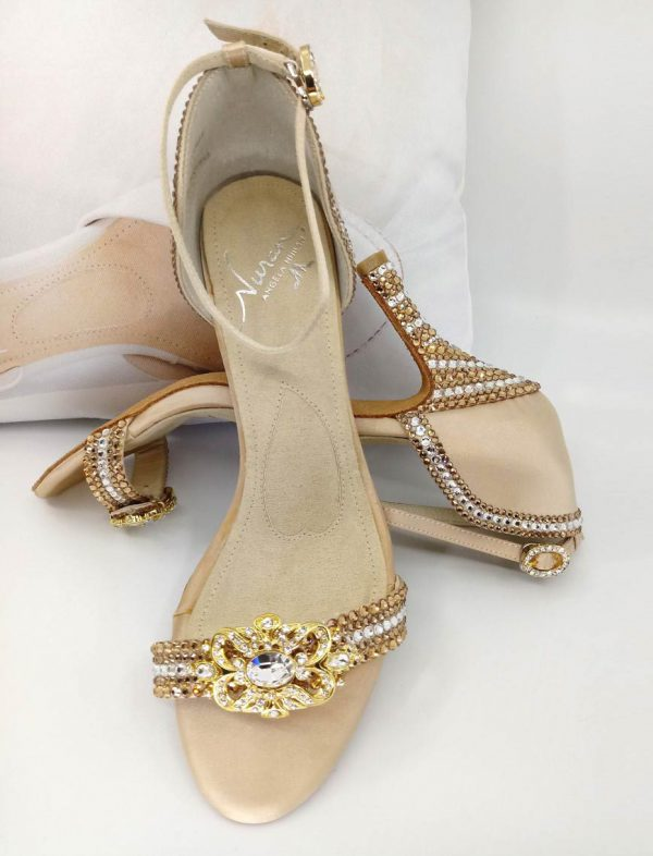 Filigree Gold shoe