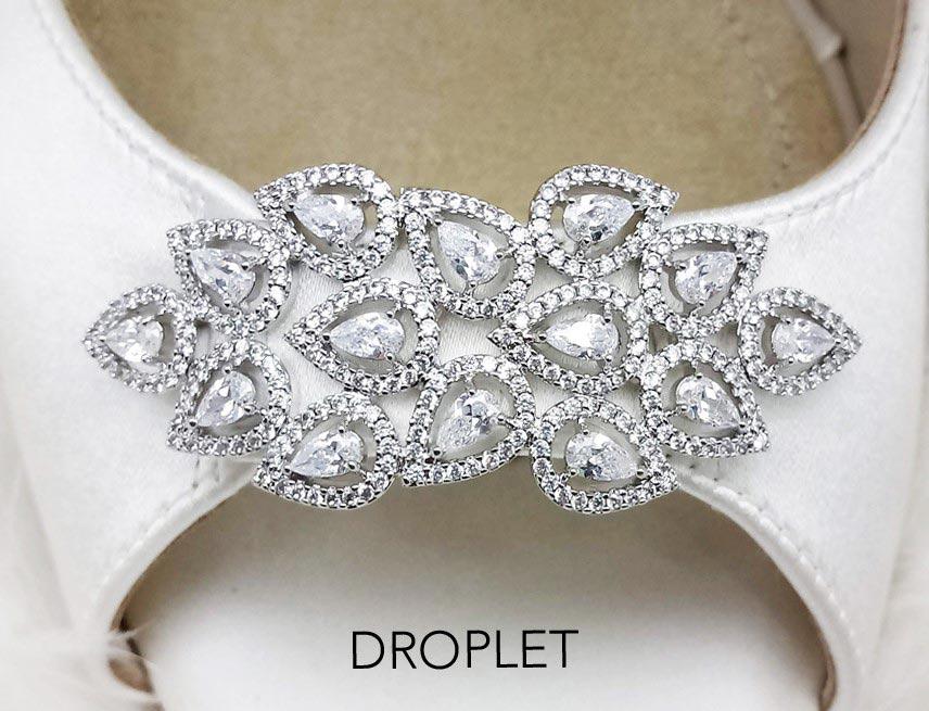 Droplet Brooch