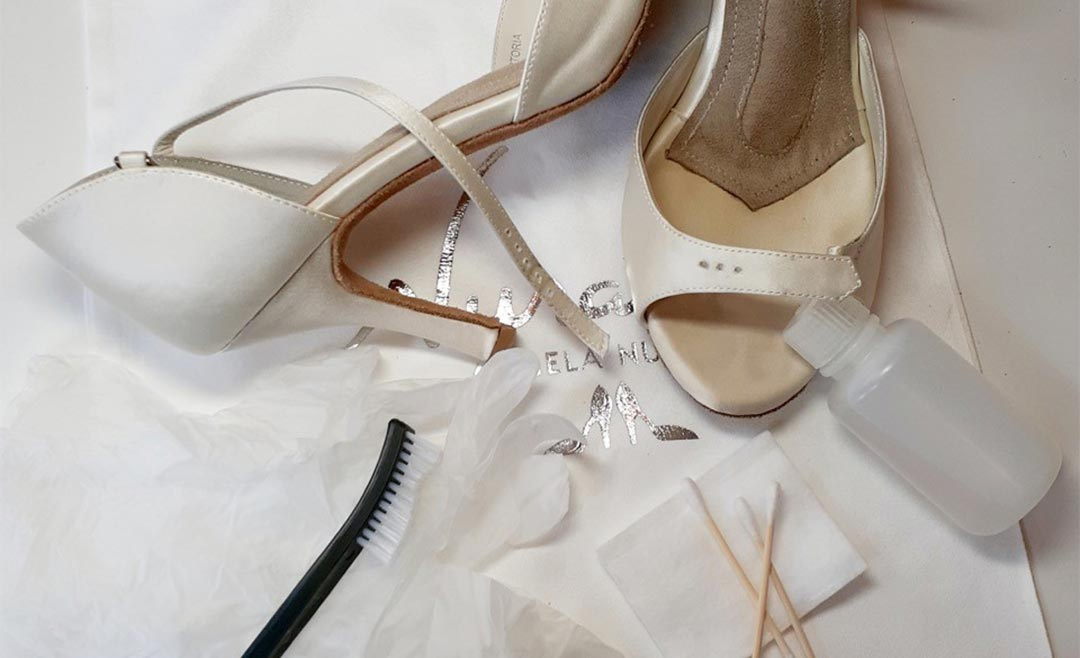 Clean and Dye Angela Nuran Shoes: A Makeover